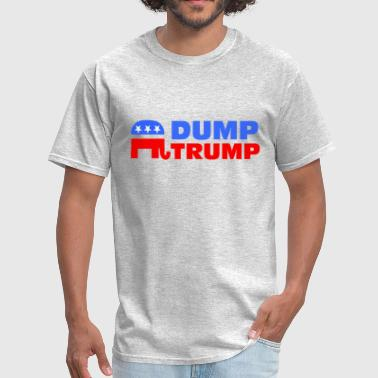 Incompetent Dump Trump - Men's T-Shirt