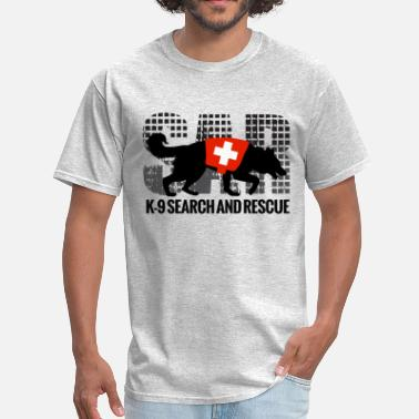 K9 Unit K-9 Search and Rescue - Men's T-Shirt