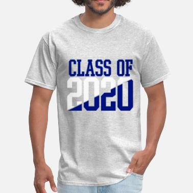 Senior Class Of 2020 CLASS OF 2020 WHITE AND BLUE - Men's T-Shirt
