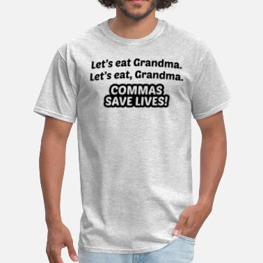 Commas Save Lives Commas Save Lives - Men's T-Shirt