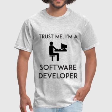 Personal Development Trust Me I'm a Software Developer - Men's T-Shirt
