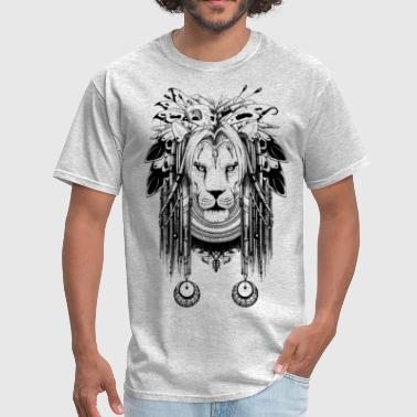 shaman lion - Men's T-Shirt