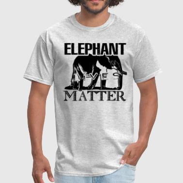 Elephants Matter Lives Matter Elephant Shirt - Men's T-Shirt