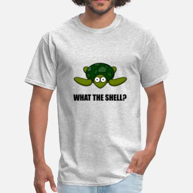 Tortuga What The Shell Turtle Fun - Men's T-Shirt