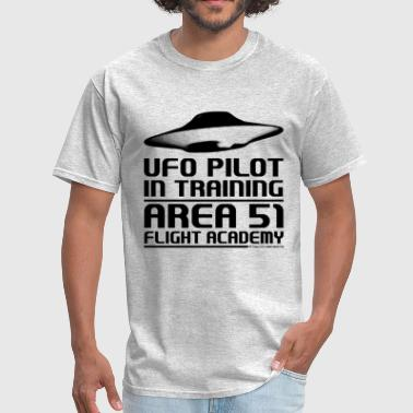 Area 51 UFO Pilot - Men's T-Shirt