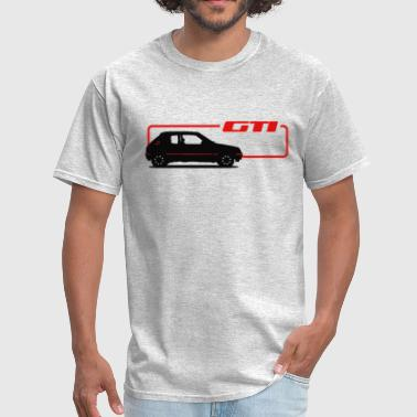 Gti 205 GTI car - Men's T-Shirt