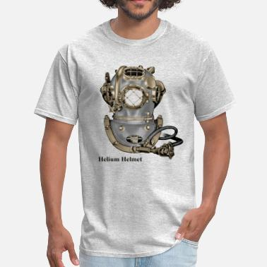 Helmet Vintage Mark V Helium Diving Helmet - Men's T-Shirt