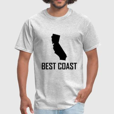 Best Coast West Coast Best Californi - Men's T-Shirt