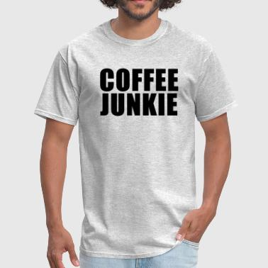 Oversleep Coffee junkie - Men's T-Shirt