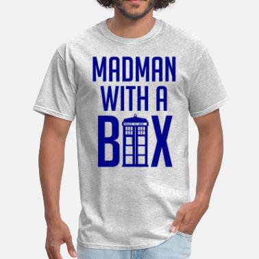 Madman Madman With a Box - Men's T-Shirt