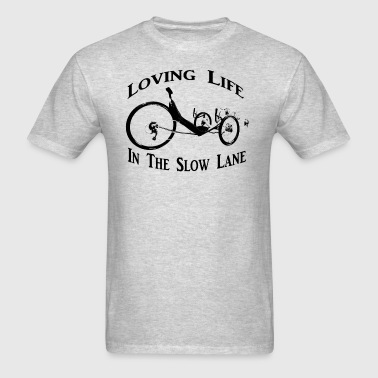 Slow Lane (black) - Men's T-Shirt