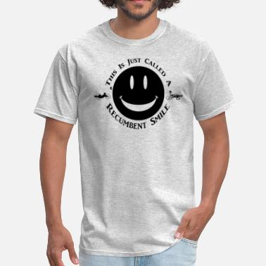 Recumbent Trike Recumbent Smile (black) - Men's T-Shirt