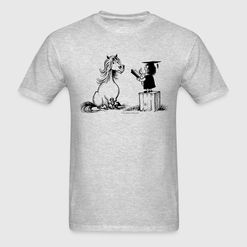 Thelwell Pony Learning At School Teacher - Men's T-Shirt