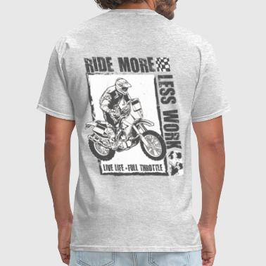 Rally Racing Ride More - Men's T-Shirt