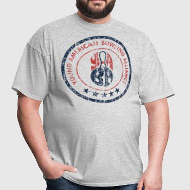 Young American Bowling Vintage - Men's T-Shirt
