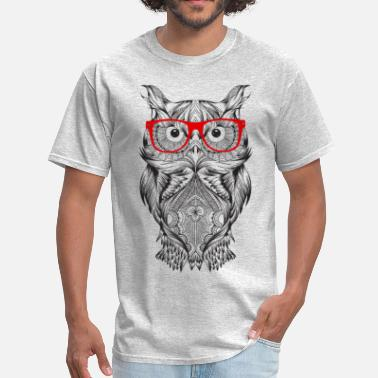 Wise Owl Wise Owl - Men's T-Shirt