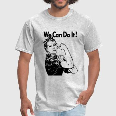 Funny 3x Jokes We can do it - Men's T-Shirt