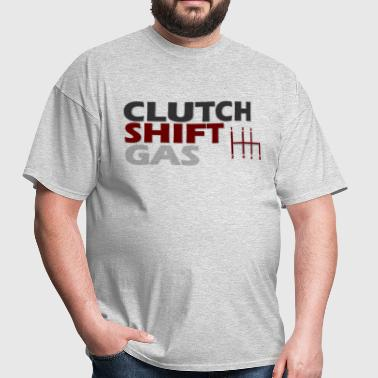 Clutch Shift Gas - Men's T-Shirt