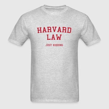 Harvard Law - Men's T-Shirt