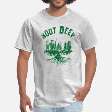 City Club Root deep urban green - Men's T-Shirt