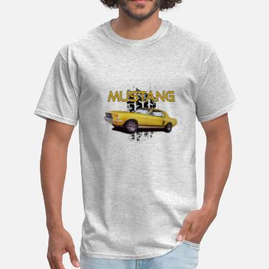 1968 Ford Mustang Coupe 1968 Ford Mustang - Men's T-Shirt