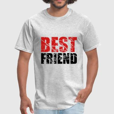 cool stempel kratzer risse best friends text logoc - Men's T-Shirt