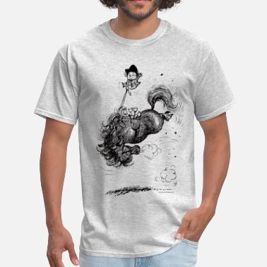 Thelwell Thelwell Horse Rodeo - Men's T-Shirt