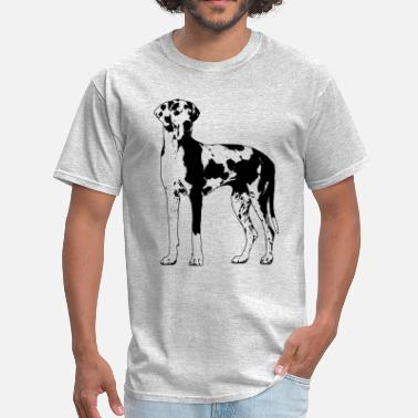 Harlequin Great Dane Harlequin Great Dane   - Men's T-Shirt