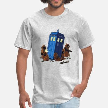 Dr Who Star Wars Dr Who Tardis - Men's T-Shirt