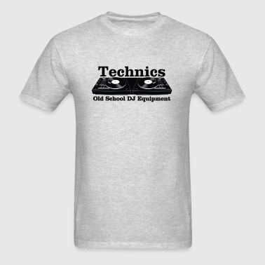 technics black - Men's T-Shirt