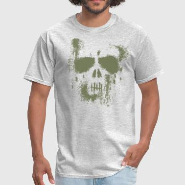 Punisher Army Skull Dust Punisher - GREEN - Men's T-Shirt