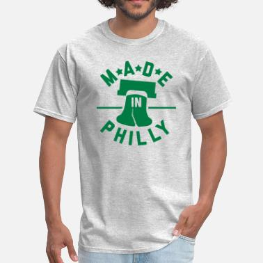 Philly Heart Made In Philly - Men's T-Shirt