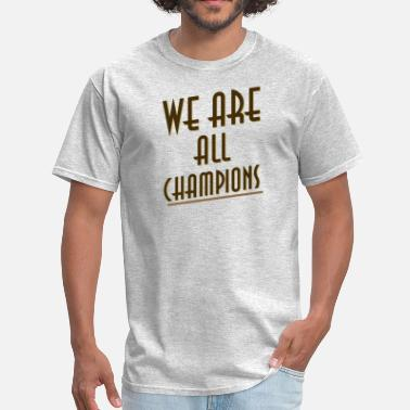 We The Resilient champions - Men's T-Shirt