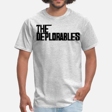 Deplorable Me Trump and The Deplorables - Men's T-Shirt