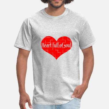 Yardbirds Heart Full of Soul Oldies Popular Song Titles - Men's T-Shirt
