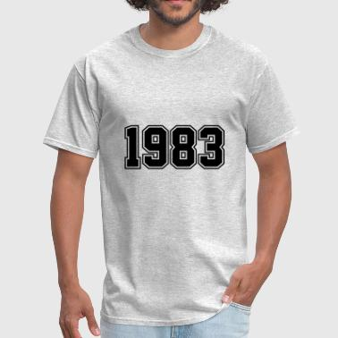 1983 | Year of Birth | Birth Year | Birthday - Men's T-Shirt