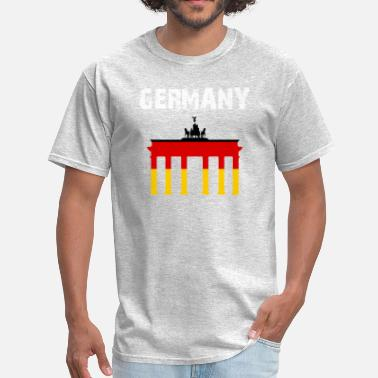 Quadriga Nation-Design Germany Brandenburg Gate mYXGJ - Men's T-Shirt