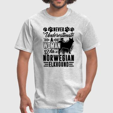 Woman With A Norwegian Elkhou Shirt - Men's T-Shirt
