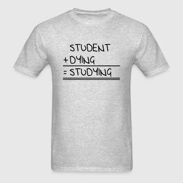 studying - Men's T-Shirt