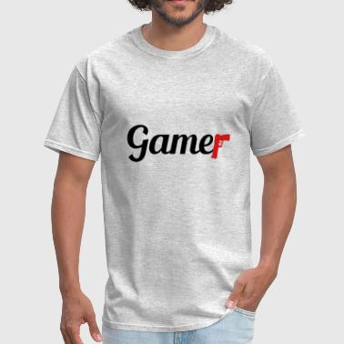 Killer Game Gun Shoot Shooter Shoot Cool Controlle - Men's T-Shirt