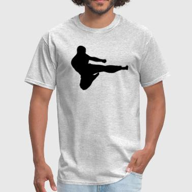 Karate Fighter Karate Fighter Silhouette - Men's T-Shirt