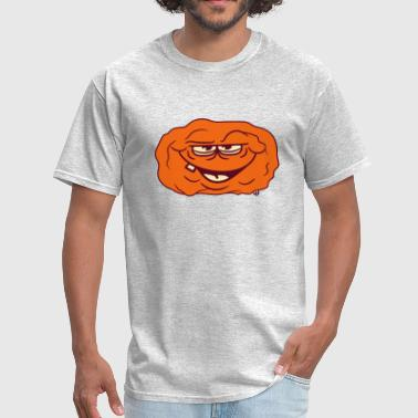 monster face laughing cheeky potato vegetable food - Men's T-Shirt