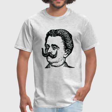 Vintage Science Scientists Portrait - Men's T-Shirt