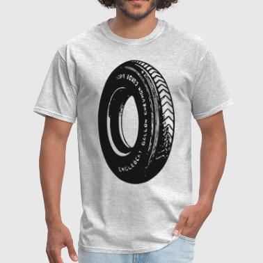 Car Tires Vintage Car Car Tire - Men's T-Shirt