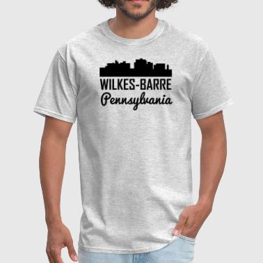 Wilkes-barre Wilkes-Barre Pennsylvania Skyline - Men's T-Shirt