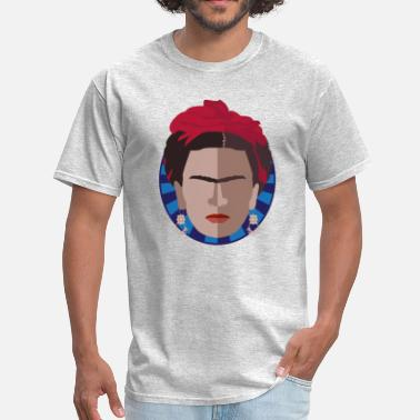 Chicano Art TGIF | Thank God it's Frida Kahlo - Men's T-Shirt