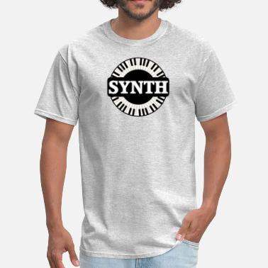 Synth Synth Keyboard - Men's T-Shirt