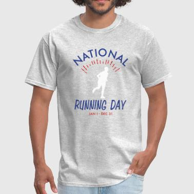 Mens Running Day - Men's T-Shirt