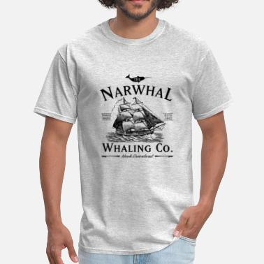 Narwhal The Narwhal Whaling Company - Men's T-Shirt