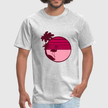 summer sun beach palms island vacation vacation se - Men's T-Shirt